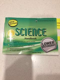 Science Handbook for Lower Secondary