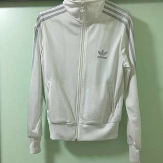 Adidas白色外套