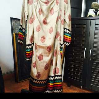 Baju Kurung Mini Saree