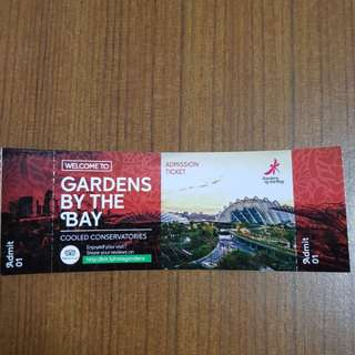 Gardens By The Bay Child Admission Ticket - Single Conservatory
