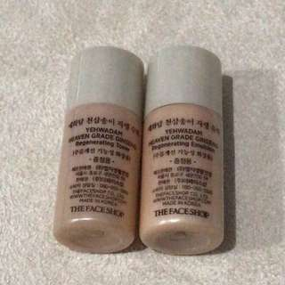 (NEW) The Face Shop Yehwadam Ginseng Toner travel size