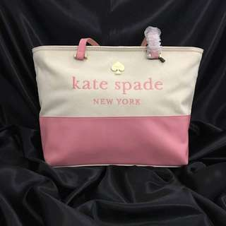Kate Spade Classic Canvass Tote Bag