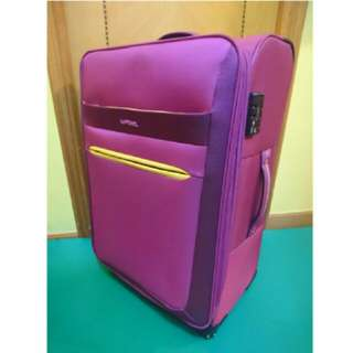 "💖💕 26"" La Pearl Pink Trolley Suitcase 4 Wheels"