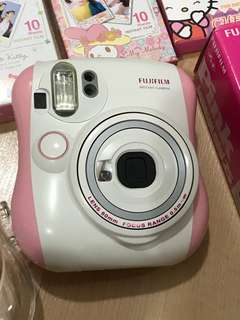 Instax Mini 25 Pink with 3 films