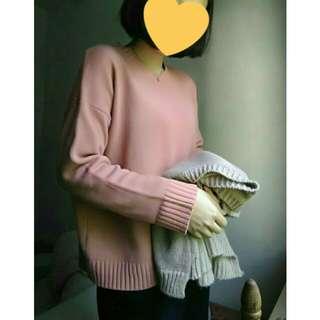 🇰🇷草莓鮮奶針織衣☕超親膚顯白#換季五折