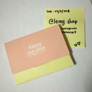 WTS Mini Photocard Envelope BTS 4th Muster