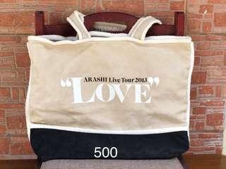 arashi live tour bag