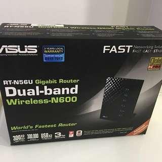 ASUS RT-N56U Gigabit Router Dual Band Wireless N-600