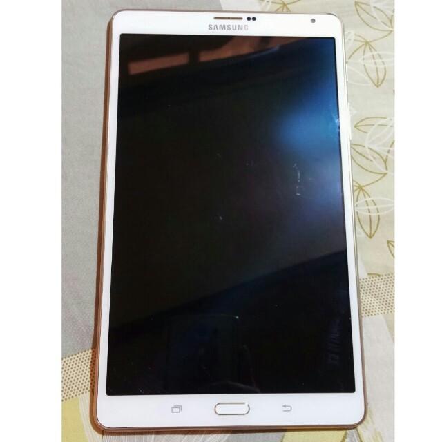三星 Samsung tab S T705Y 4G LTE 8.4吋平板 (零件機)