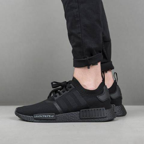 "new style bc640 3b4cf Adidas NMD R1 PK Japan ""Triple Black"", Men's Fashion ..."