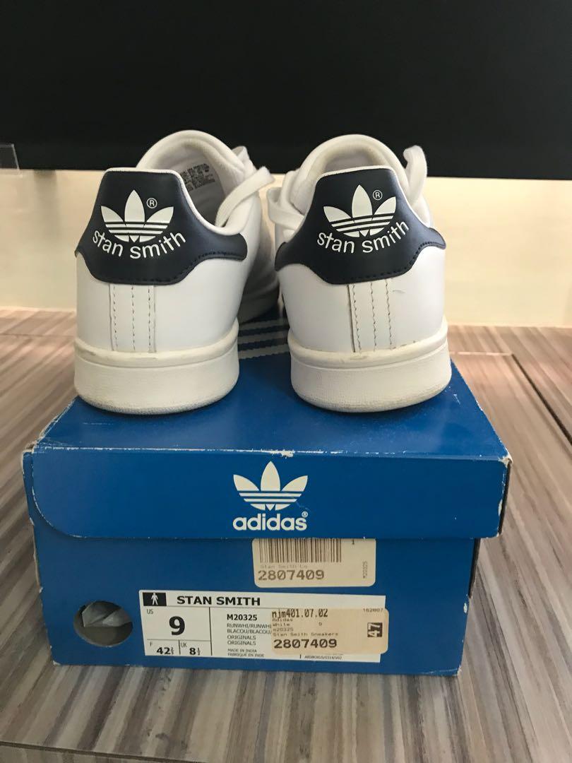 95a4fb4bbaf69 Adidas stan smith white navy blue