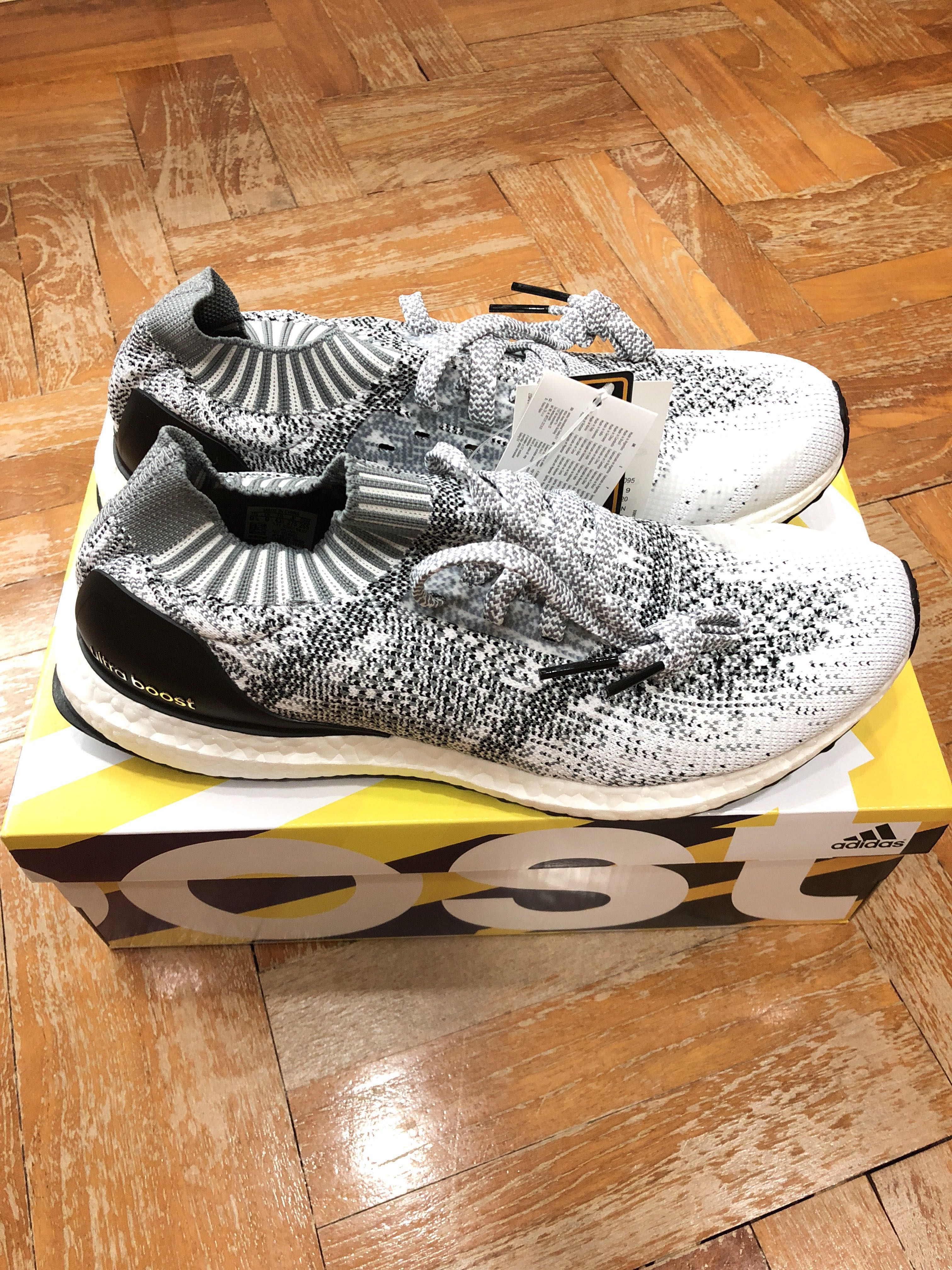Adidas ultraboost fece uscire bianco grigio oreo, moda maschile, calzature