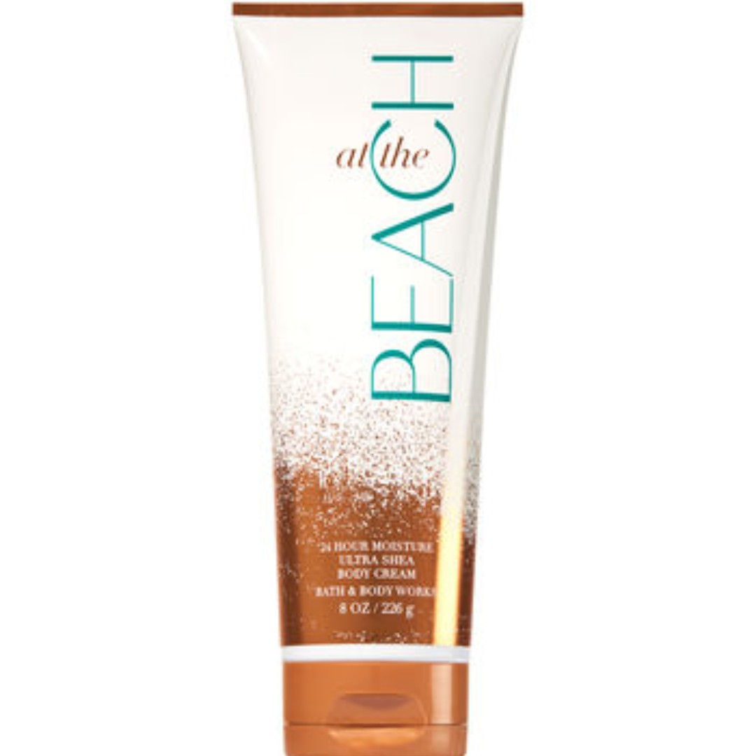 AUTHENTIC BATH & BODY WORKS AT THE BEACH BODY CREAM 226g