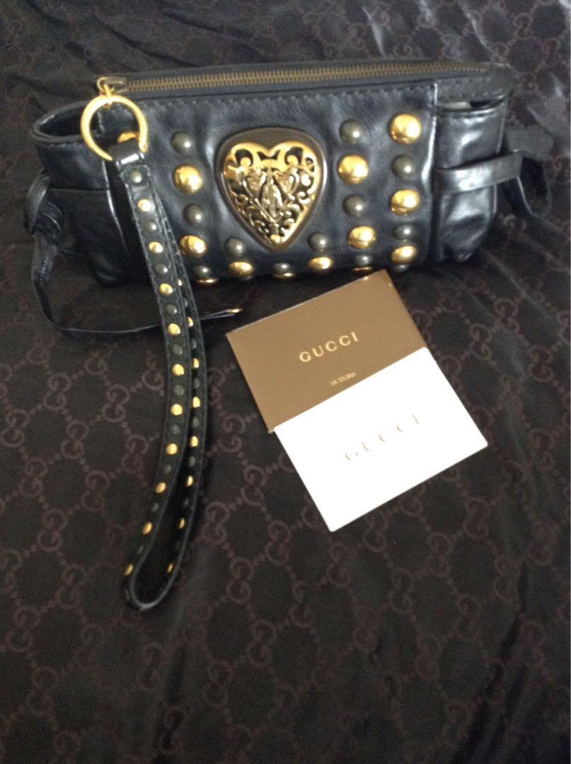 Authentic Gucci Babushka Wristlet