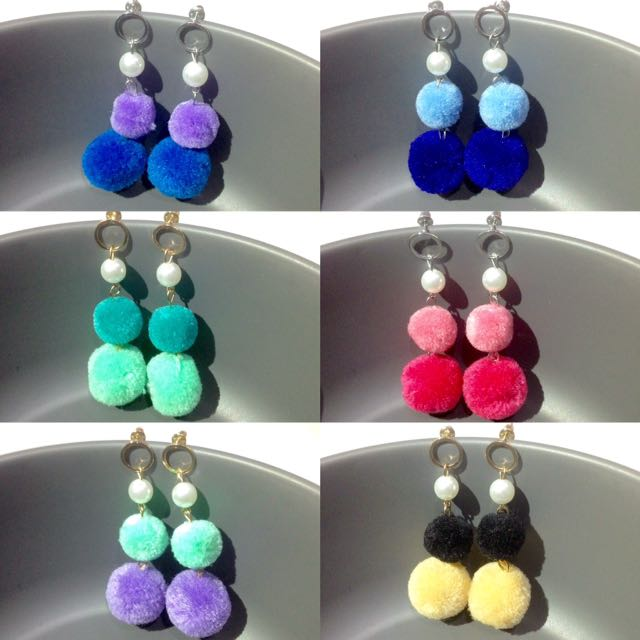 BANTING HARGA DOUBLE POMPOM