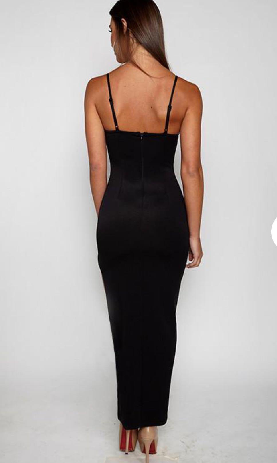 Black MAXI ball dress! Size 10