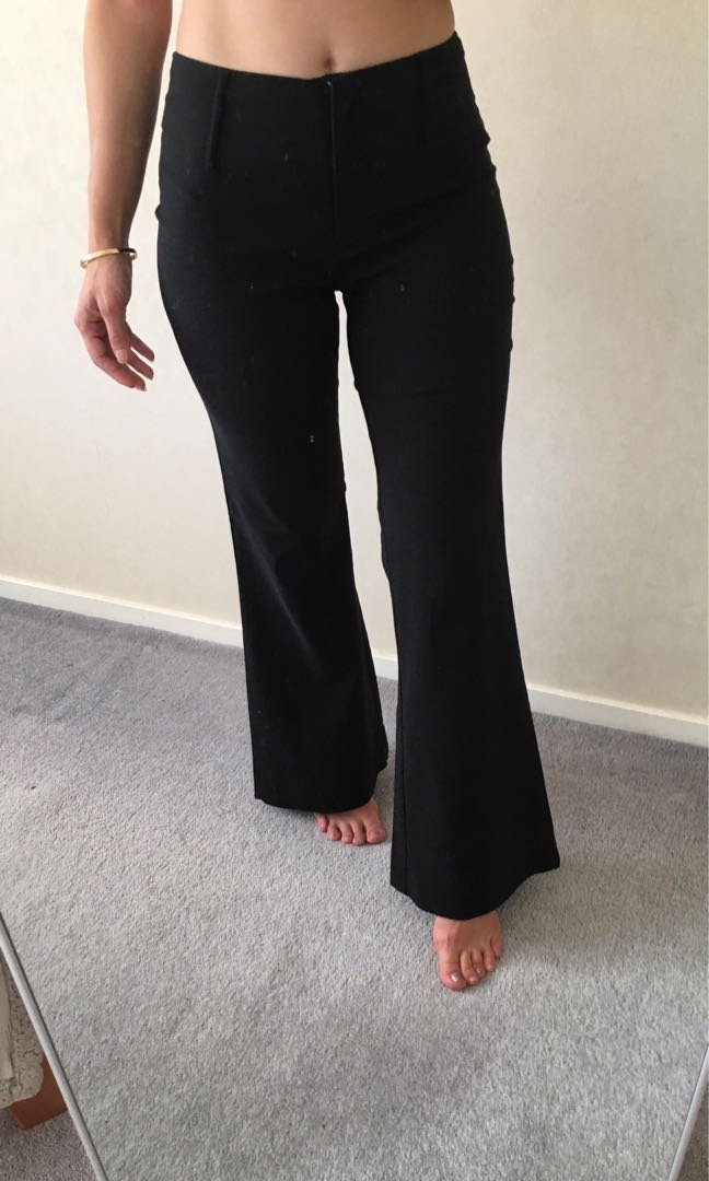BLACK OFFICE PANTS EXC COND