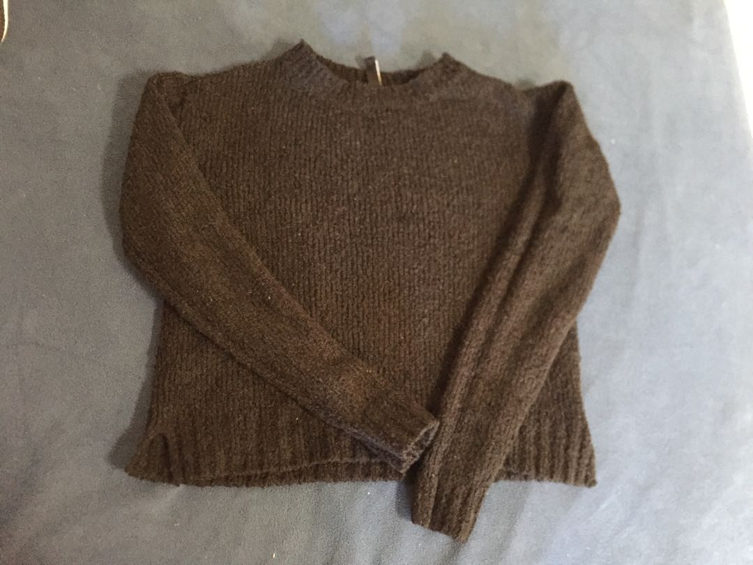 black sweater (xs/s)