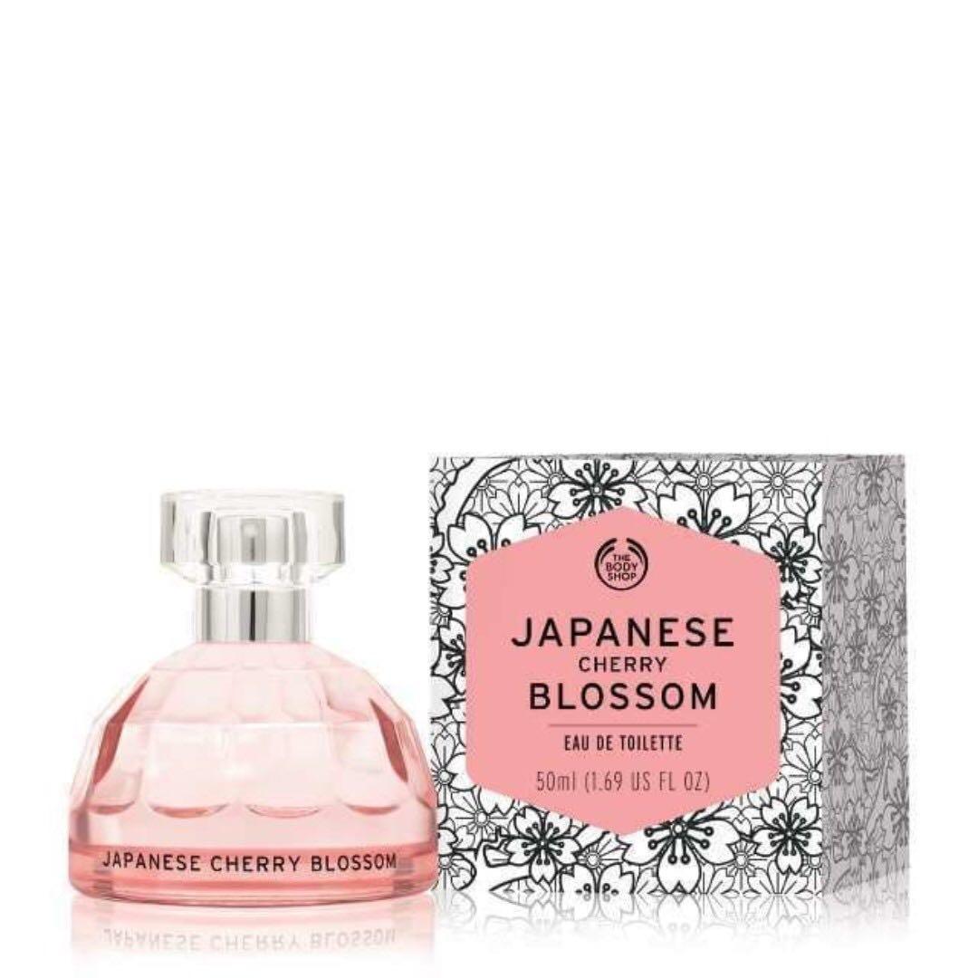 Body Shop Japanese Cherry Blossoms Eau de Toilette 50mL