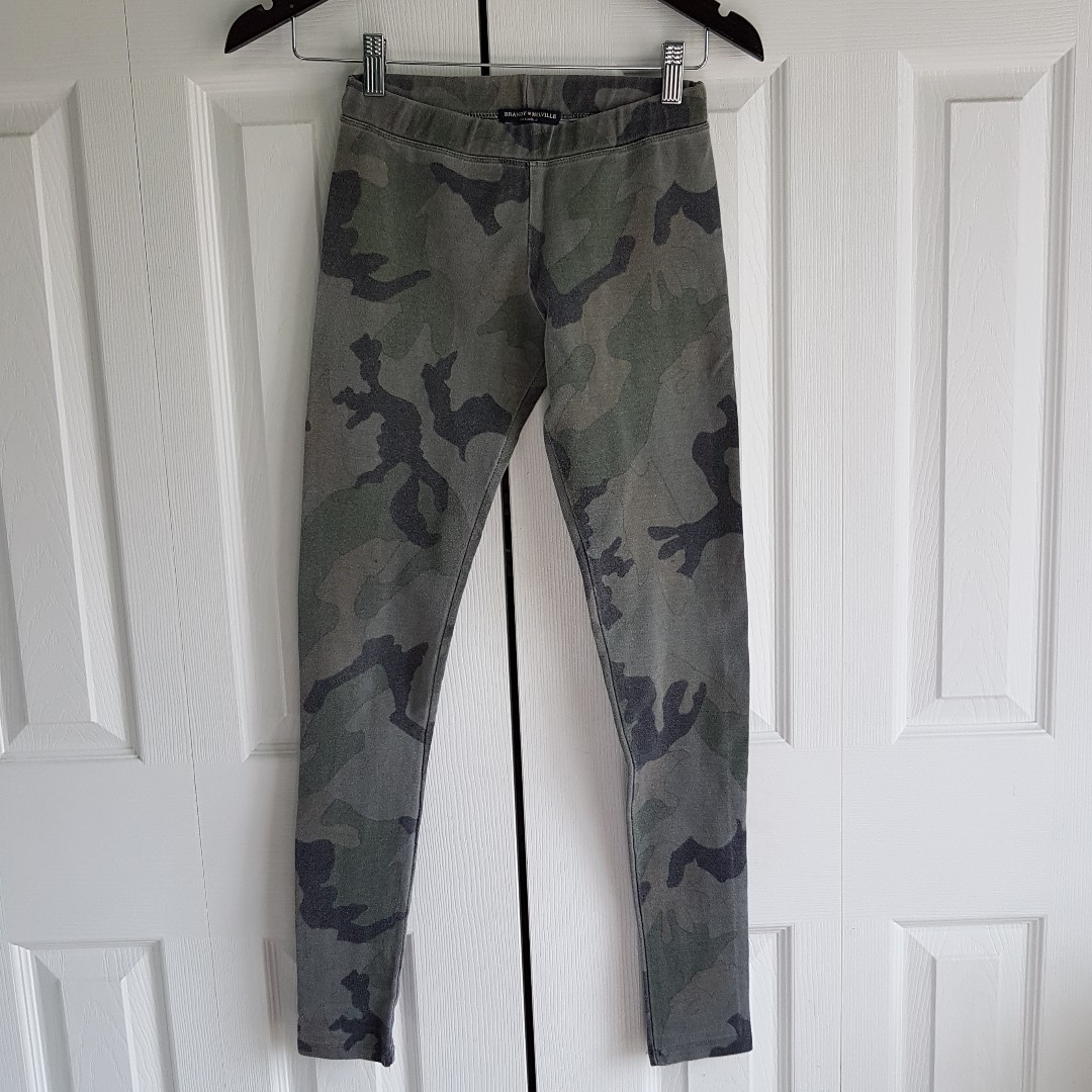 Brandy Melville Washed-Out Camo Leggings