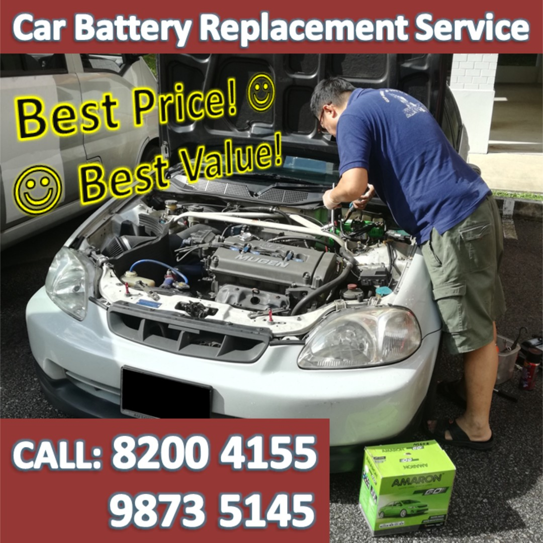 Car Battery Change Onsite