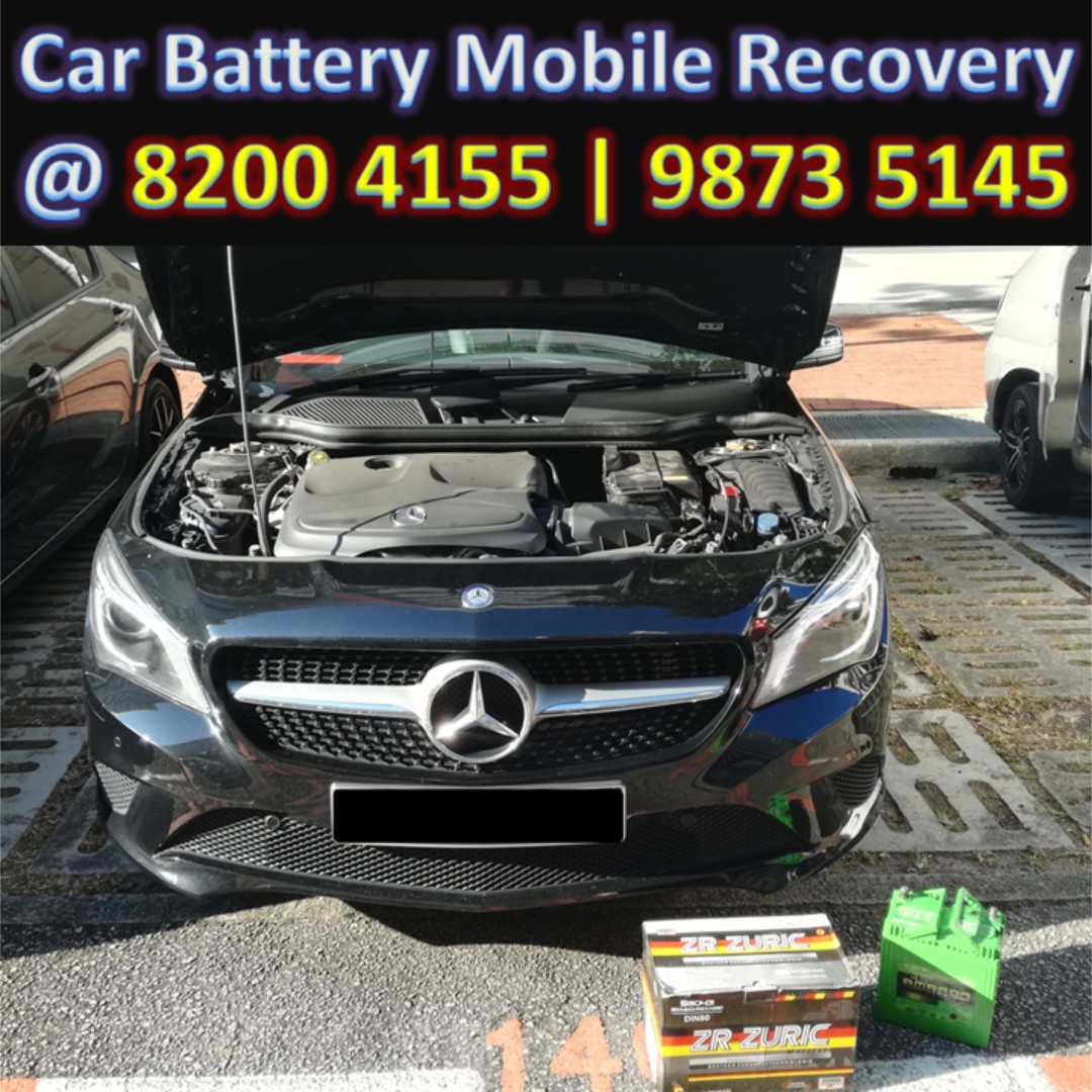 Car Battery Change Service