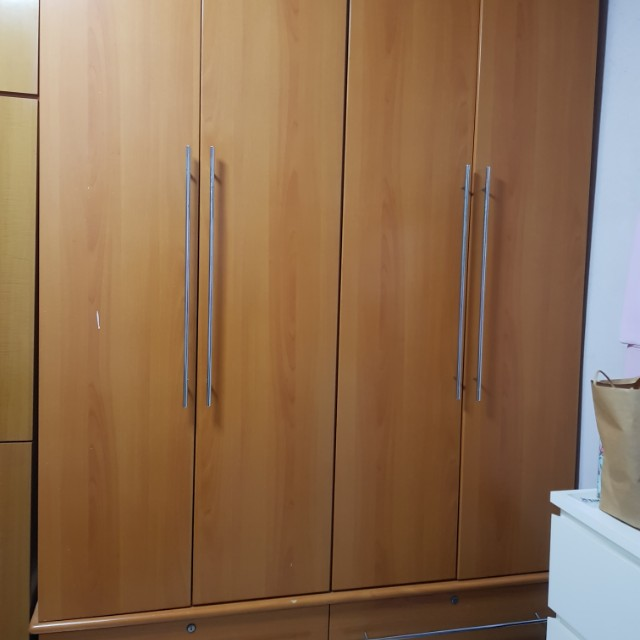 huge selection of f227b 90052 CHEAP Used Wardrobe, Furniture, Shelves & Drawers on Carousell