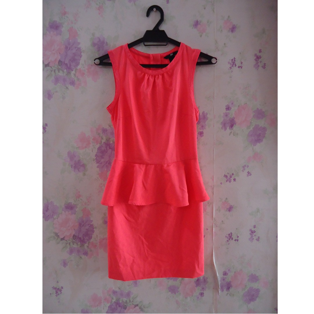 (Clearance Offer) H&M Peplum Dress