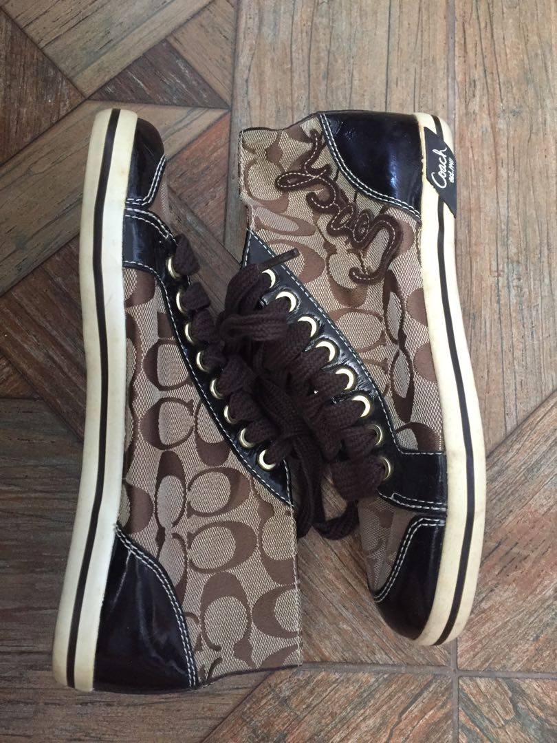 Coach Sneakers Rubber Shoes