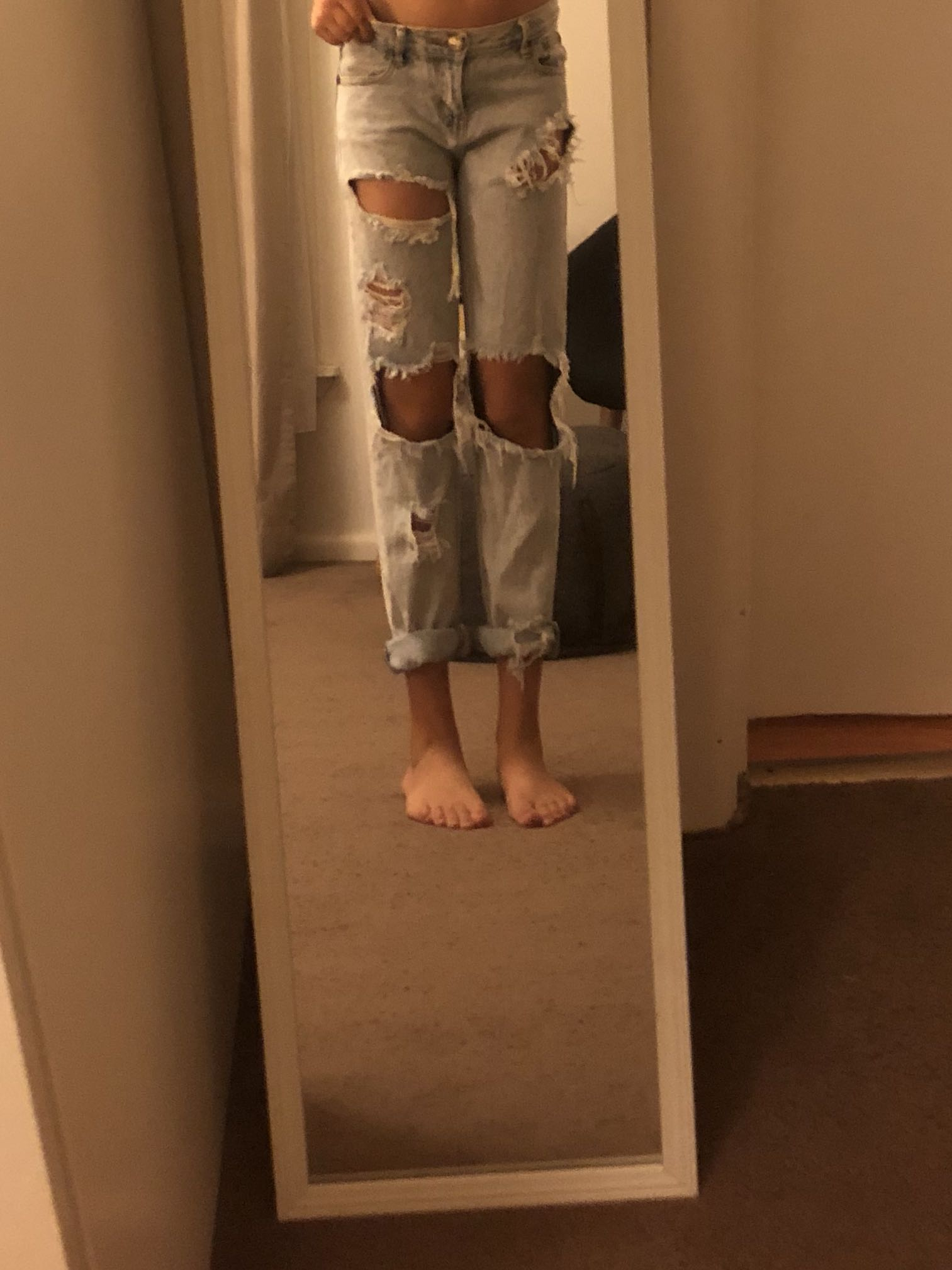 Cute baggy jeans