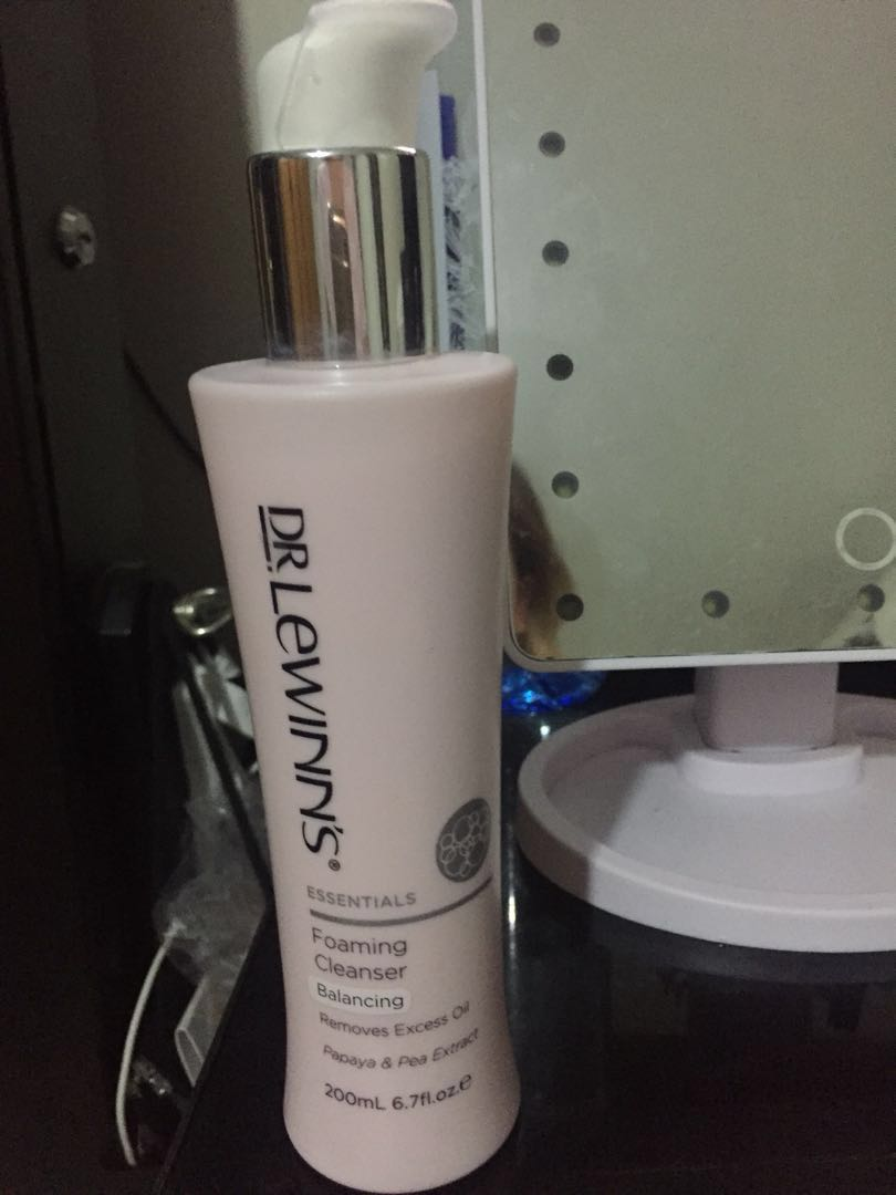 Dr Lewinn foaming cleanser