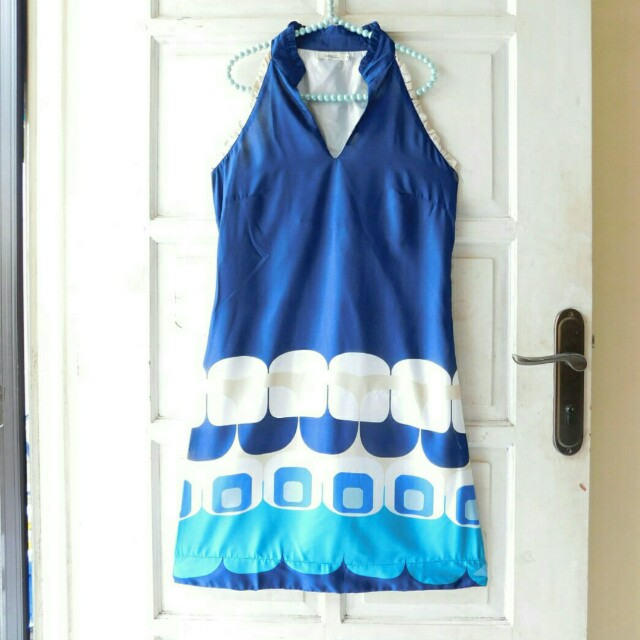 DRESS LAVAND SHANGHAI BLUE DIMENCY