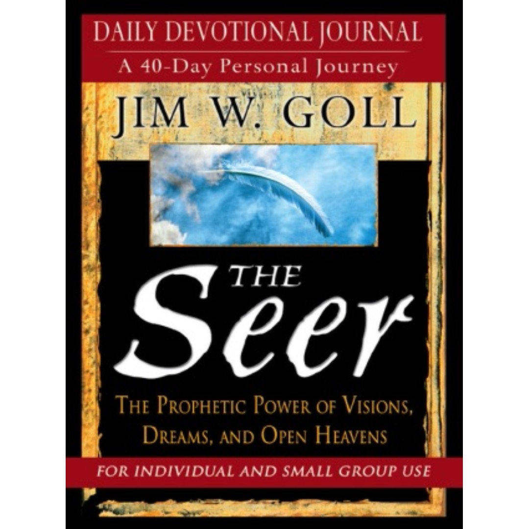 Ebook the seer devotional and journal james goll books photo photo photo fandeluxe Gallery
