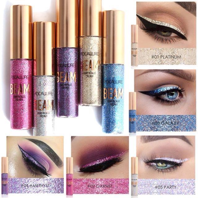 Focallure Eyeliner Glitter (Beam)