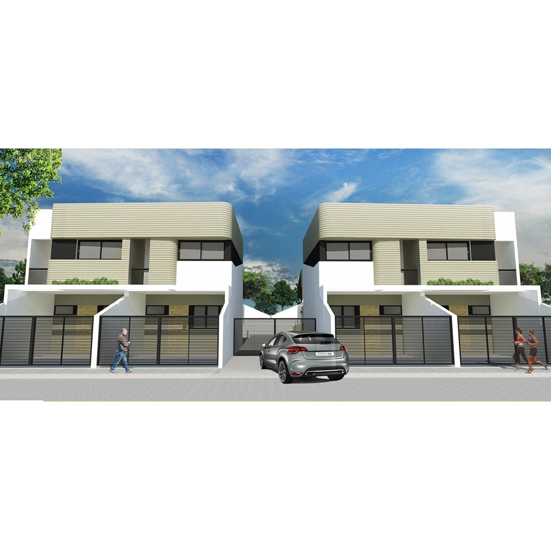 For sale elegant modern design townhouse in Masinag Antipolo near Sumulong and Marcos Highways