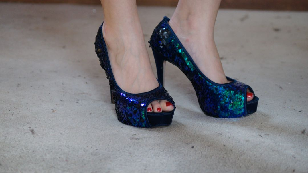 Gypsy Rose Sequinned Heels