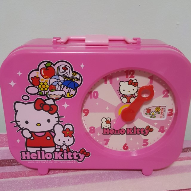 Hello Kitty Clock Carrier Case
