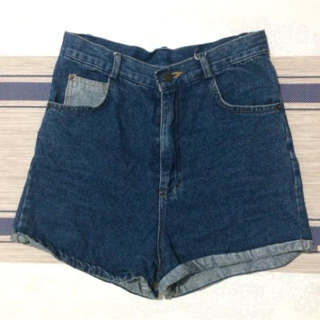 ‼️HIGH WAIST SHORT DENIM‼️