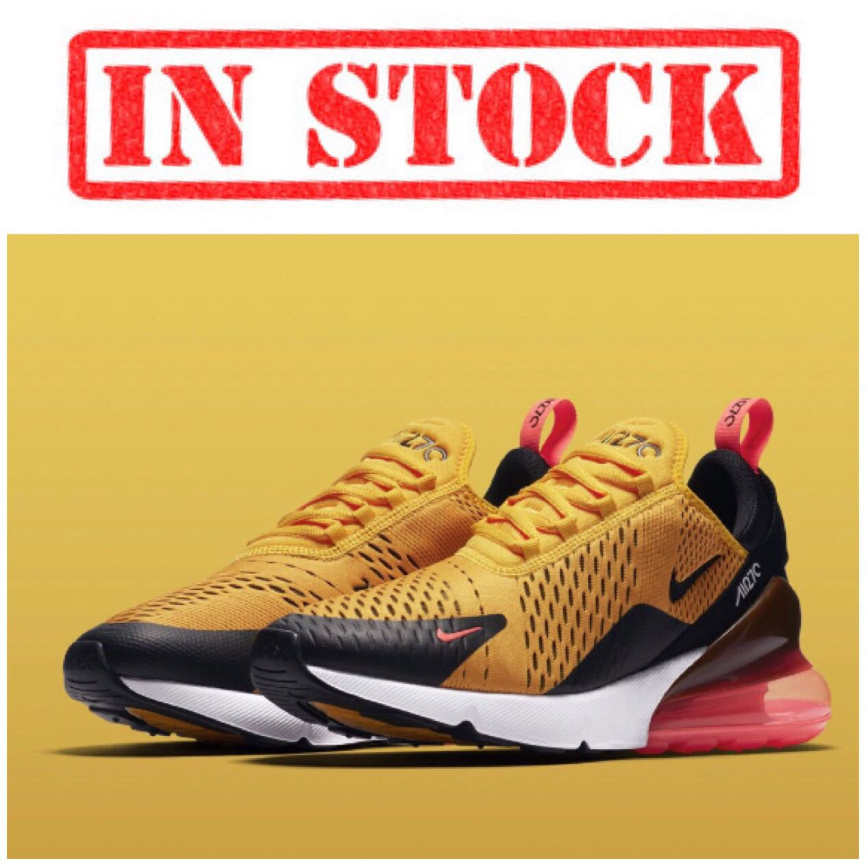 """new style 1ba74 84c3e IN STOCK Men's Nike Air Max 270"""" TIGER"""" 