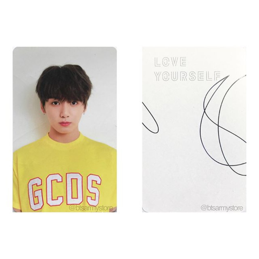 instock bts love yourself version v jungkook photocard 1521822976 f96c8a2a0