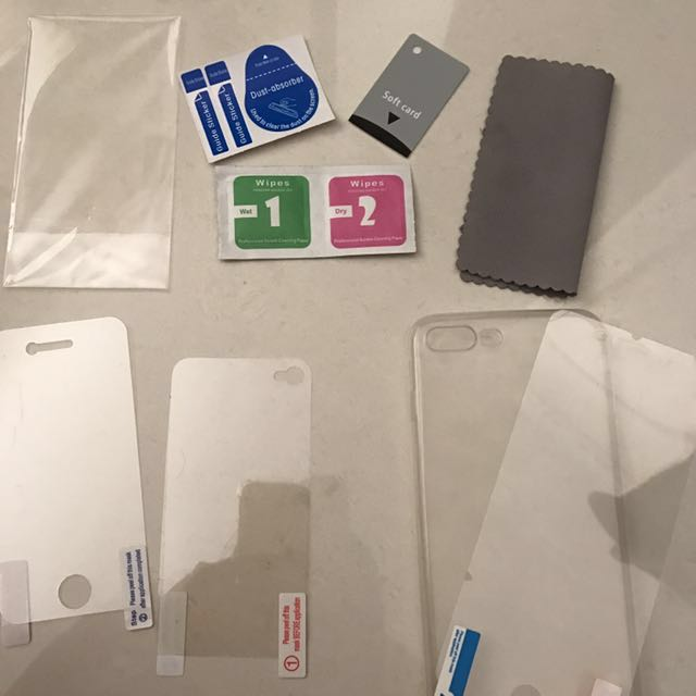 iPhone 7 Plus & iPhone 4/4s Case And Screen protector