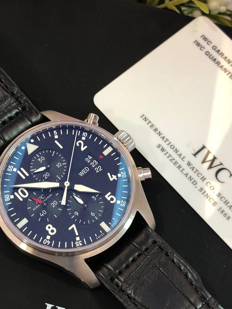 IWC Pilot Chronograph IW3777-01 1b089a2876