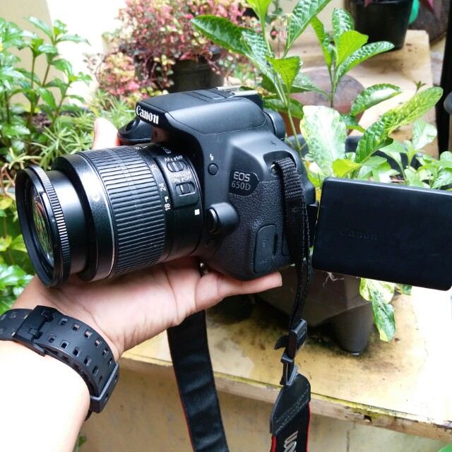 Jual Camera Dslr Canon Eos 650d Tegal Photography On Carousell