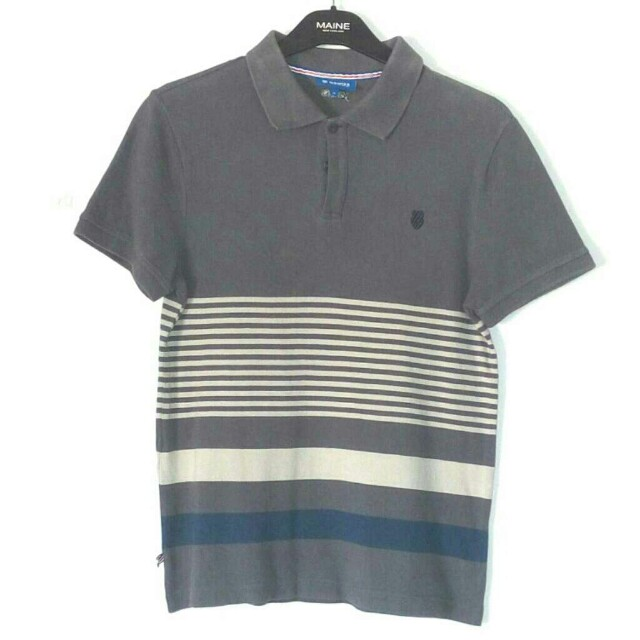 803f0086 K-Swiss collared shirt, Men's Fashion, Clothes, Tops on Carousell