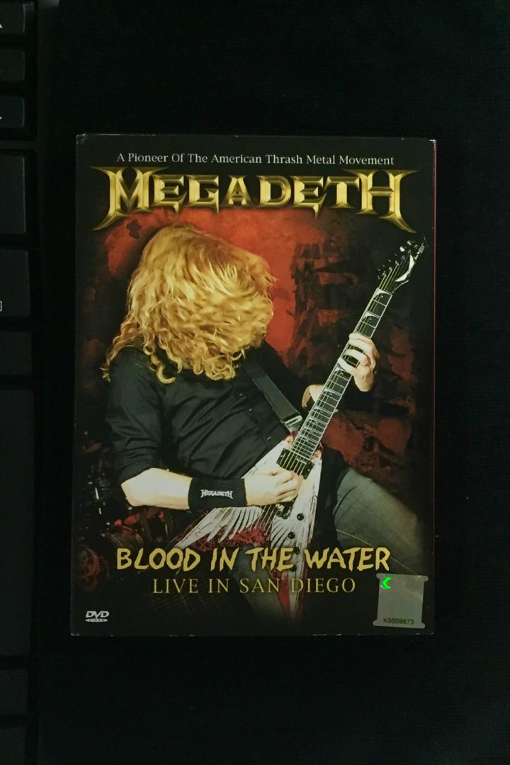 megadeth blood in the water hd