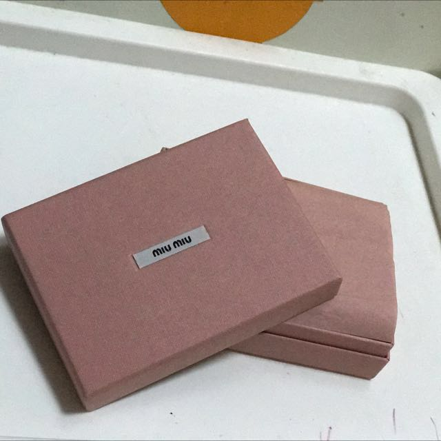 Miu Miu Card Case Card Holder 銀包