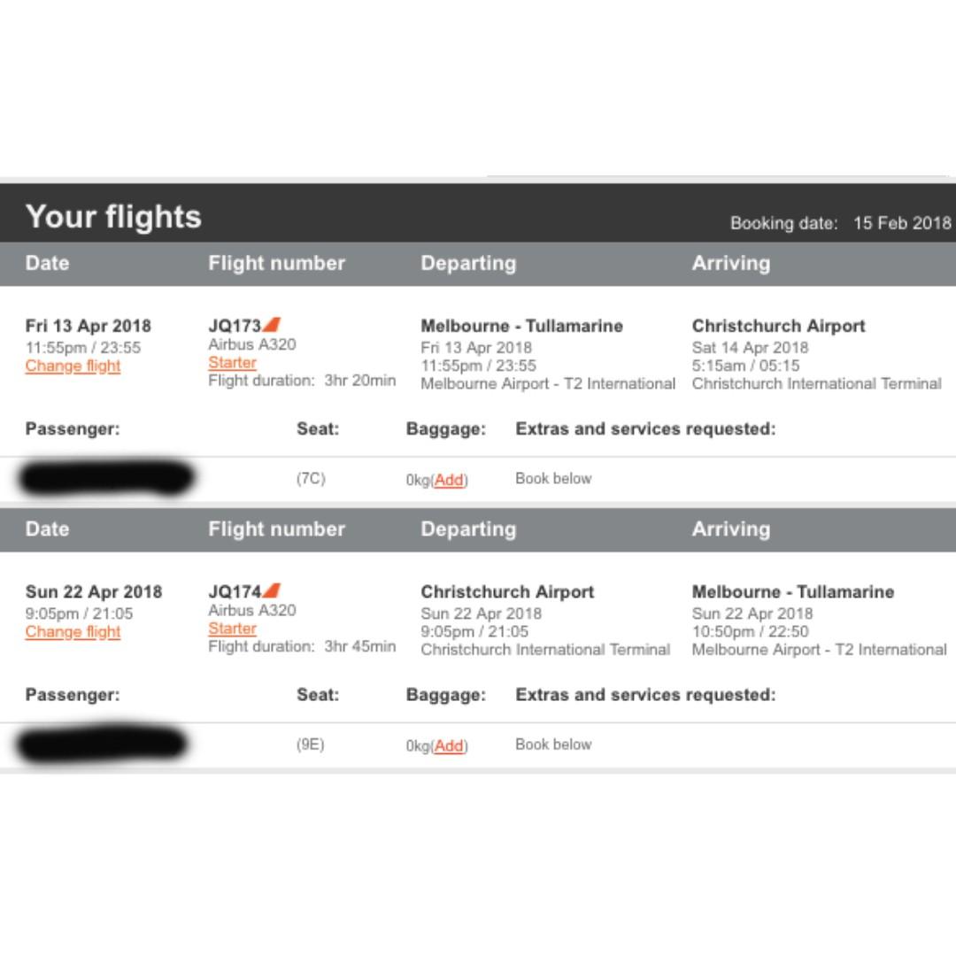 New Zealand Flight Tickets