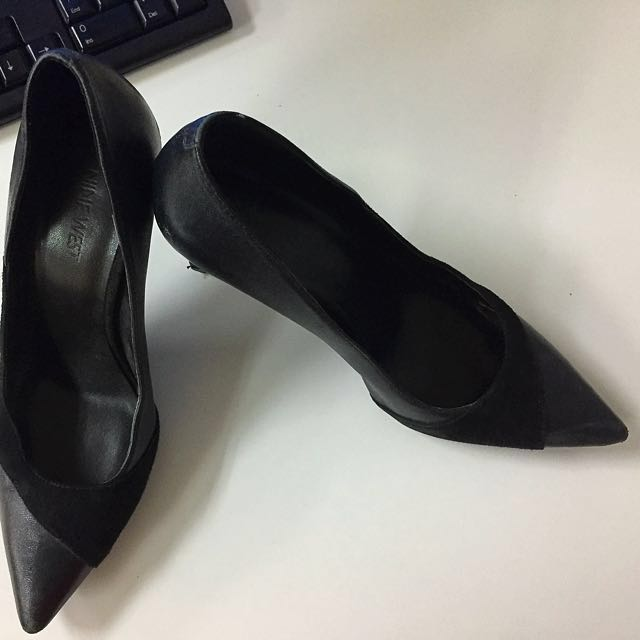 Ninewest Shoes office black shoes