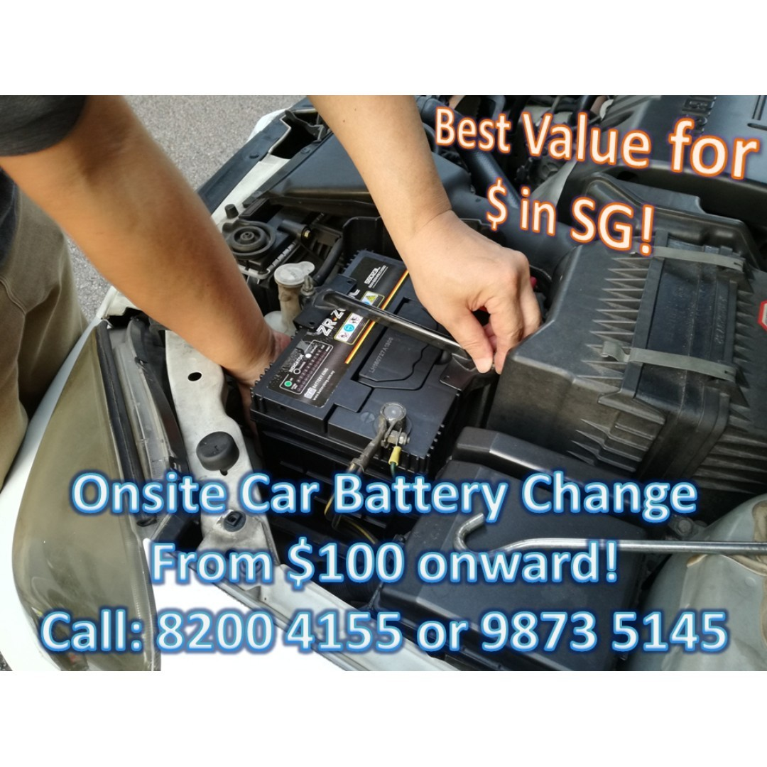 Onsite Car Battery Replacement