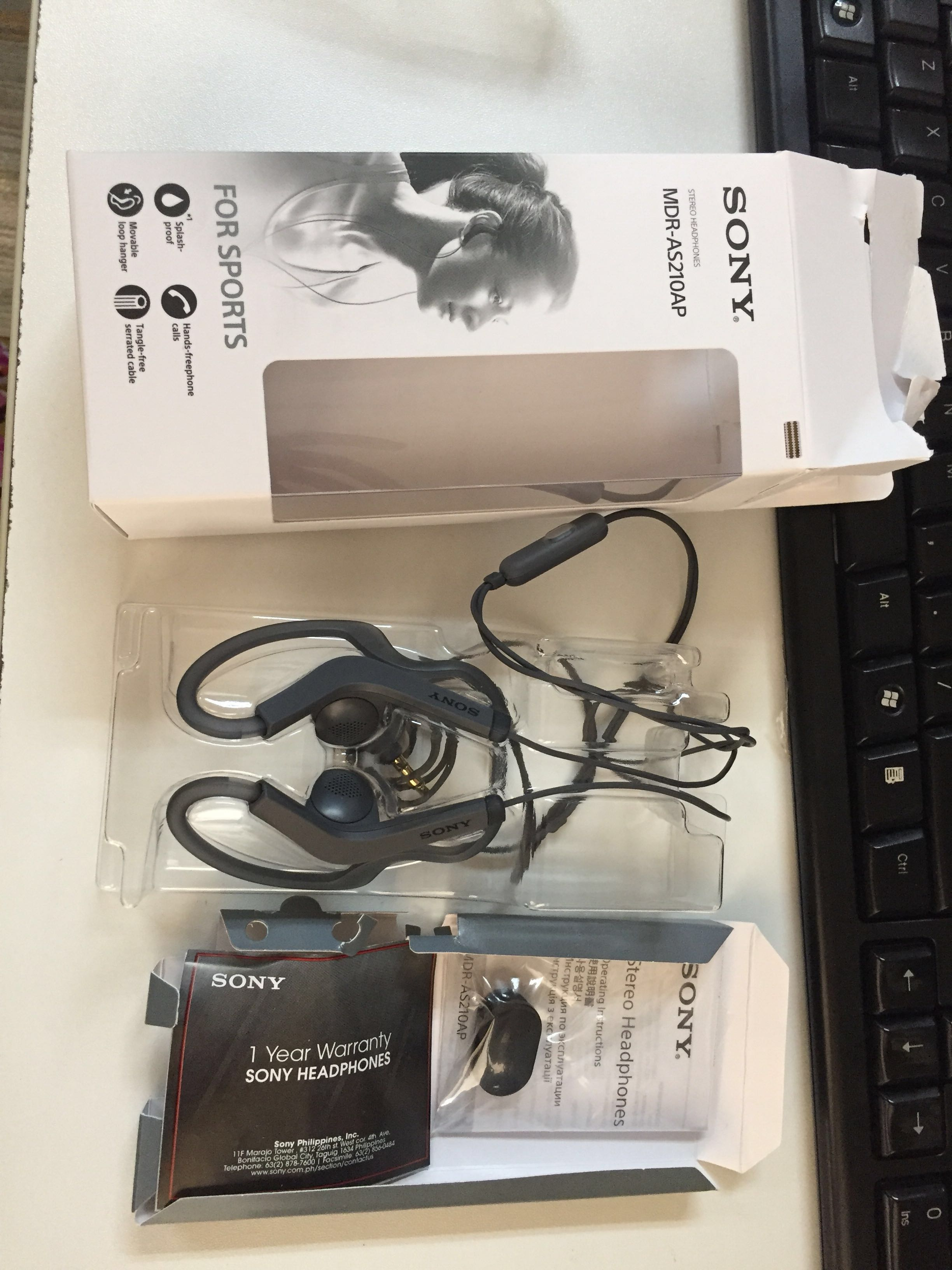 Original Sonny Headset or headphones